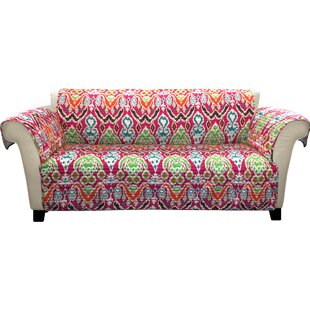 Coupon Capellen Box Cushion Sofa Slipcover by Bungalow Rose Reviews (2019) & Buyer's Guide