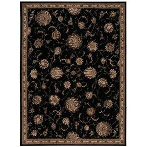 Serenade Handmade Black Area Rug