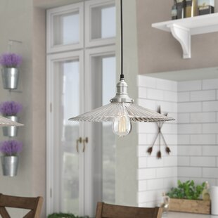 Laurel Foundry Modern Farmhouse Sandy Springs 1-Light Cone Pendant