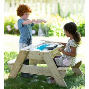 Picnic Sand & Water Table By Magic Cabin