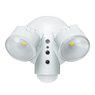 30-Watt LED Dusk to Dawn Outdoor Security Spot Light with Motion Sensor by Globe Electric Company
