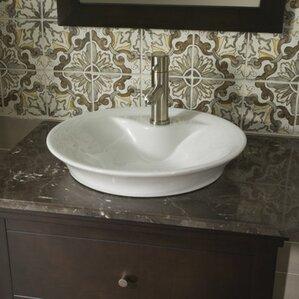 Mold In Bathroom Sink Overflow farmhouse bathroom sink | wayfair