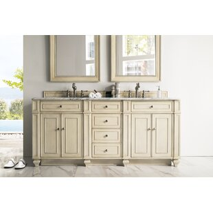 Lambrecht 72 Double Bathroom Vanity Base by Alcott Hill