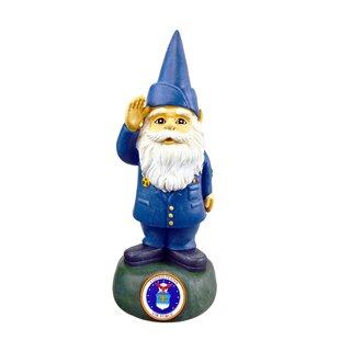 Gnome Air Force Statue By Red Carpet Studios LTD