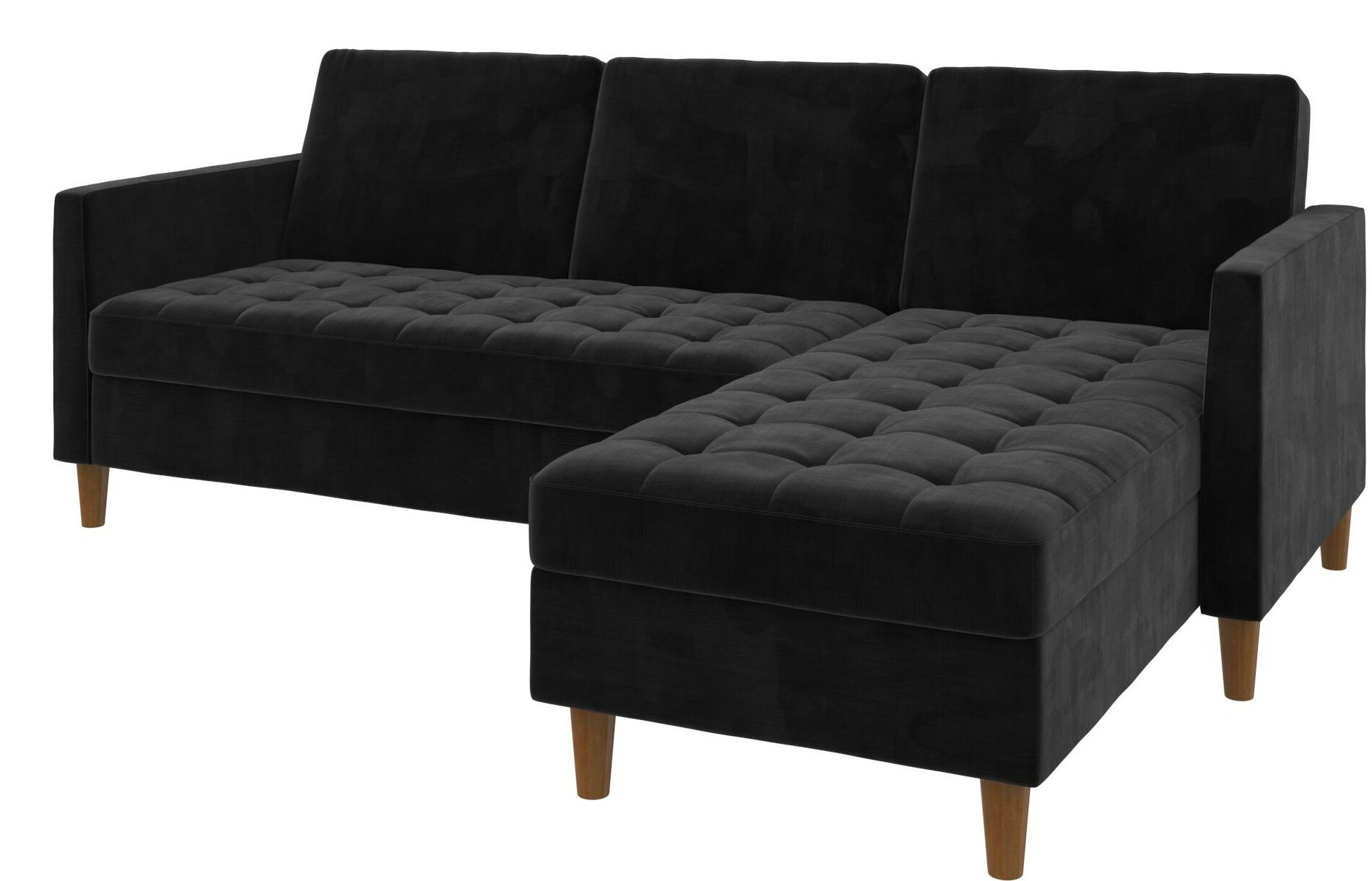Swell Bozeman Reversible Sleeper Sectional Theyellowbook Wood Chair Design Ideas Theyellowbookinfo