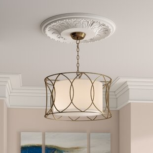 Willa Arlo Interiors Pena 1-Light Drum Pendant