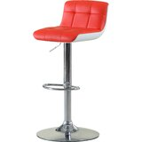 Swivel Adjustable Height Bar Stool by Hokku Designs
