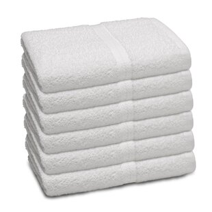 Basic Commercial 100% Cotton Bath Towel (Set of 6)