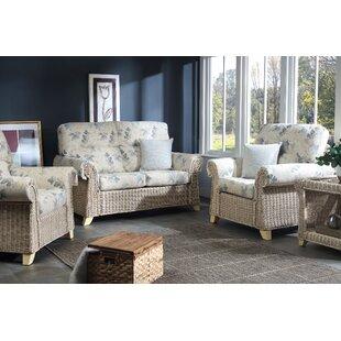 Deals Cynthia 5 Piece Conservatory Sofa Set