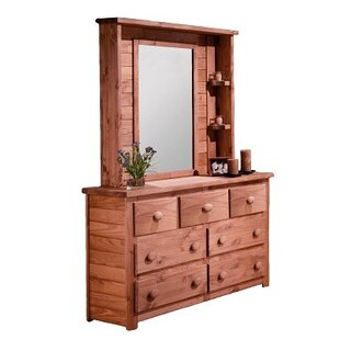 Compare & Buy Ciccone 7 Drawer Double Dresser with Mirror Hutch ByHarriet Bee