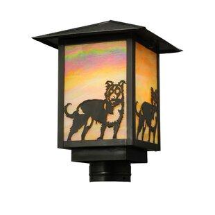 Seneca Dog 1-Light Lantern Head by Meyda Tiffany