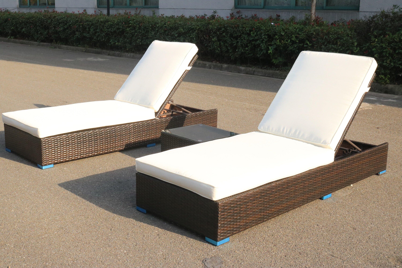 Faszinierend Loungeset Toronto Sammlung Von Brayden Studio Putney 3 Piece Chaise Lounge