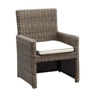 Hasler Patio Dining Chair With Cushion