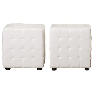 Douglass Circle Cube Ottoman (Set Of 2) By Brayden Studio
