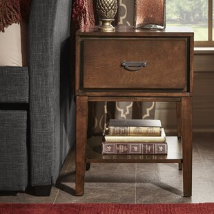 Three Posts Richboro 1 Drawer Nightstand
