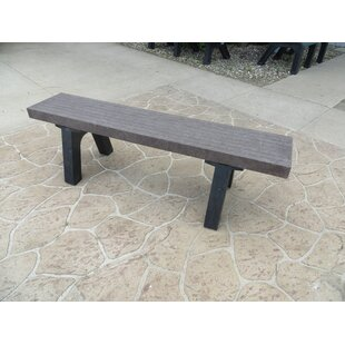 Silver Plastic Picnic Bench by Freeport Park Best
