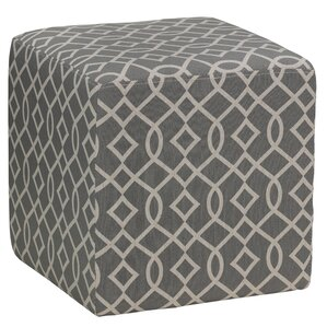 Preas Cube Ottoman by Varick Gallery
