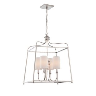 Taraval 4-Light Metal Foyer Pendant by Darby Home Co