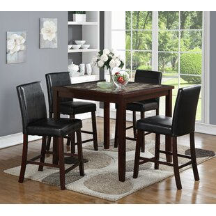 Cattle 5 Piece Pub Table Set Red Barrel Studio