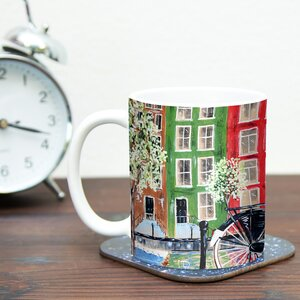 Bicycle by Christen Treat 11 oz. Ceramic Coffee Mug