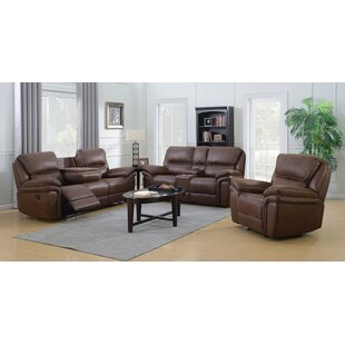 Loveday 3 Piece Reclining Living Room Set..