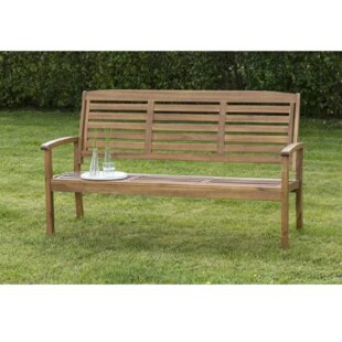 Collum Wooden Bench By Sol 72 Outdoor