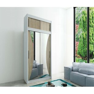 Margrethe 2 Door Sliding Wardrobe By Ebern Designs