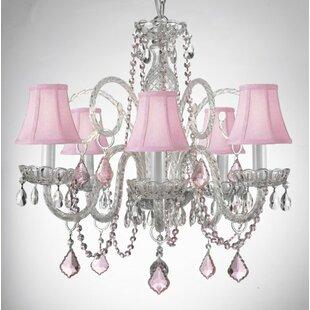 House of Hampton Kaufman 5-Light Shaded Chandelier