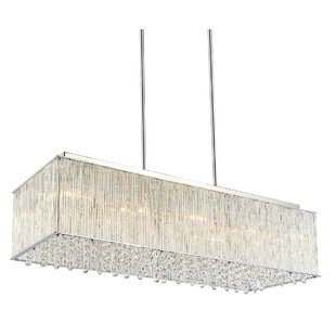 Spring Morning 10-Light Kitchen Island Pendant by CWI Lighting