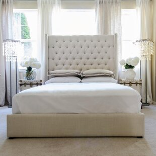 Leander Upholstered Platform Bed by Canora Grey Best Choices