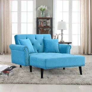 House of Hampton Tilstone Chaise Lounge