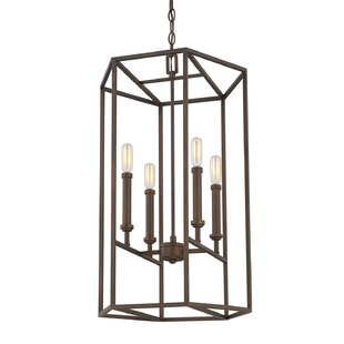 Langley Street Vista Oro 4-Light Foyer Pendant