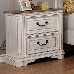 Caleb 2 Drawer Nightstand