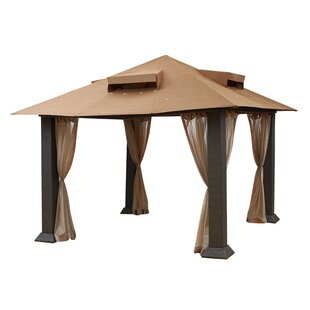 Raleigh 12 Ft. W x 12 Ft. D Metal Patio Gazebo by Pacific Currents