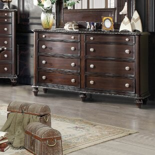 Cornelius 8 Drawer Double Dresser