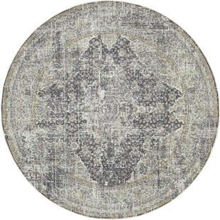 Lonerock Dark Gray Area Rug by Bungalow Rose