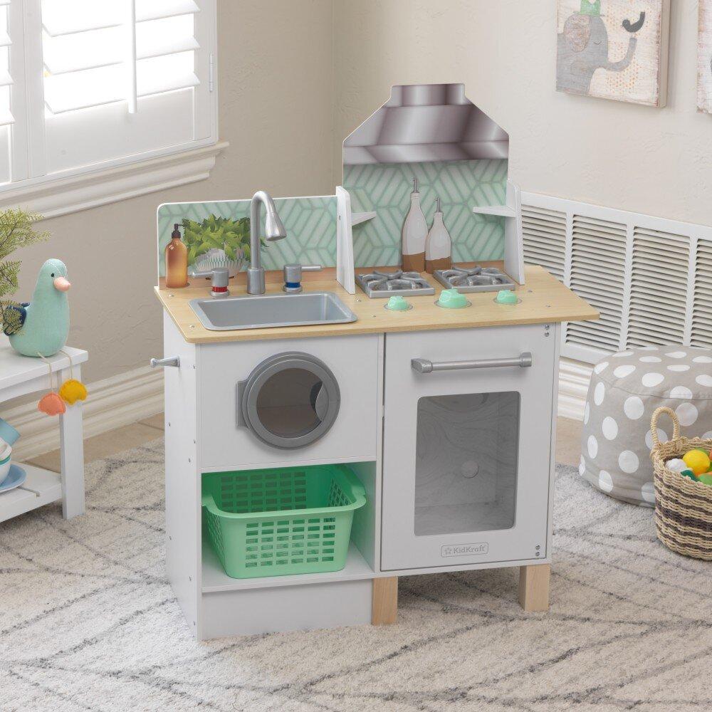 Kidkraft Laundry Kitchen Set Wayfair