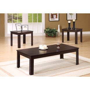 Reviews 3 Piece Coffee Table Set By Monarch Specialties Inc.
