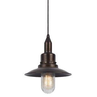 Williston Forge Brayville 1-Light Cone Pe..