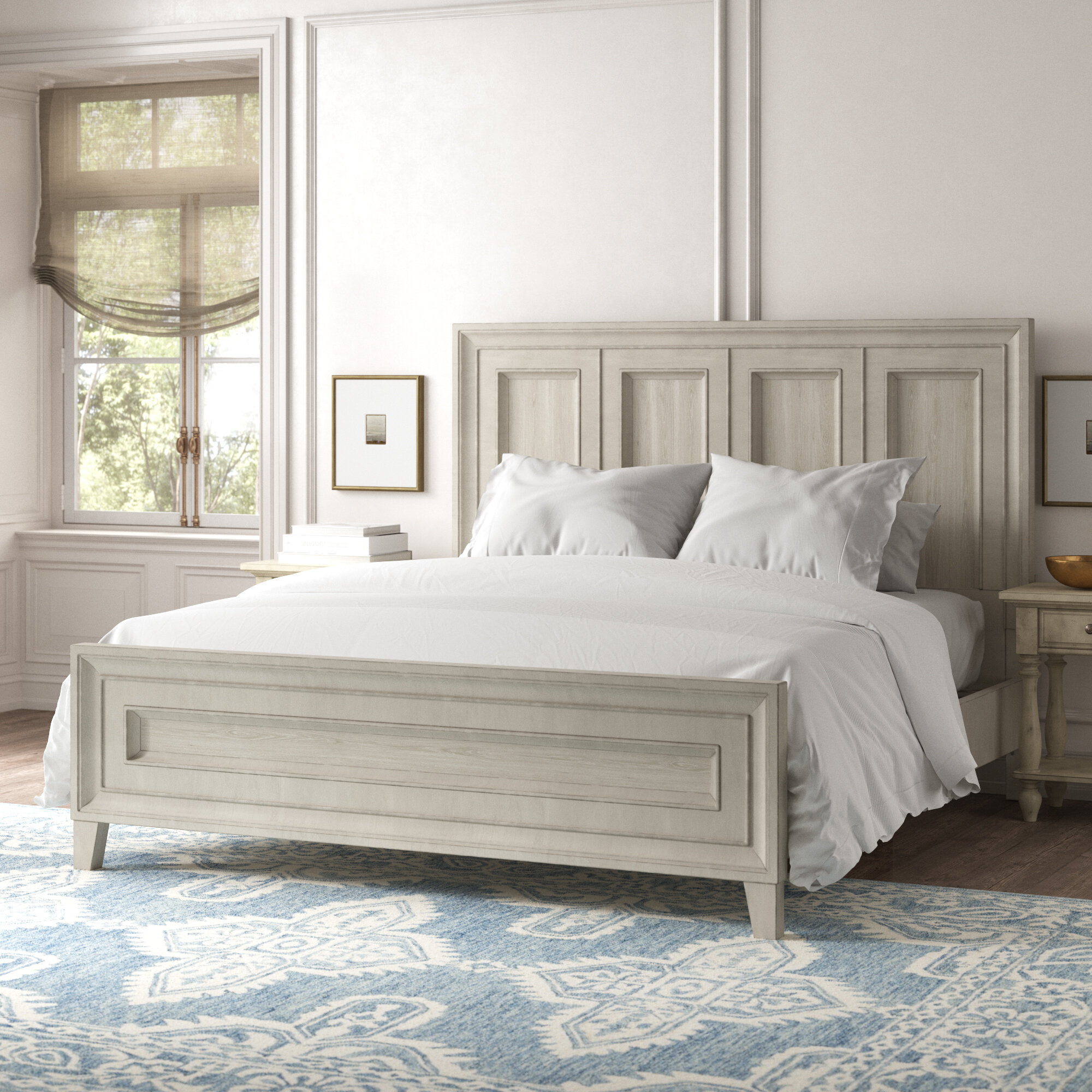 White Wood Beds You Ll Love In 2020 Wayfair
