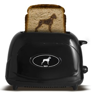 2 Slice Dog Boxer Toaster