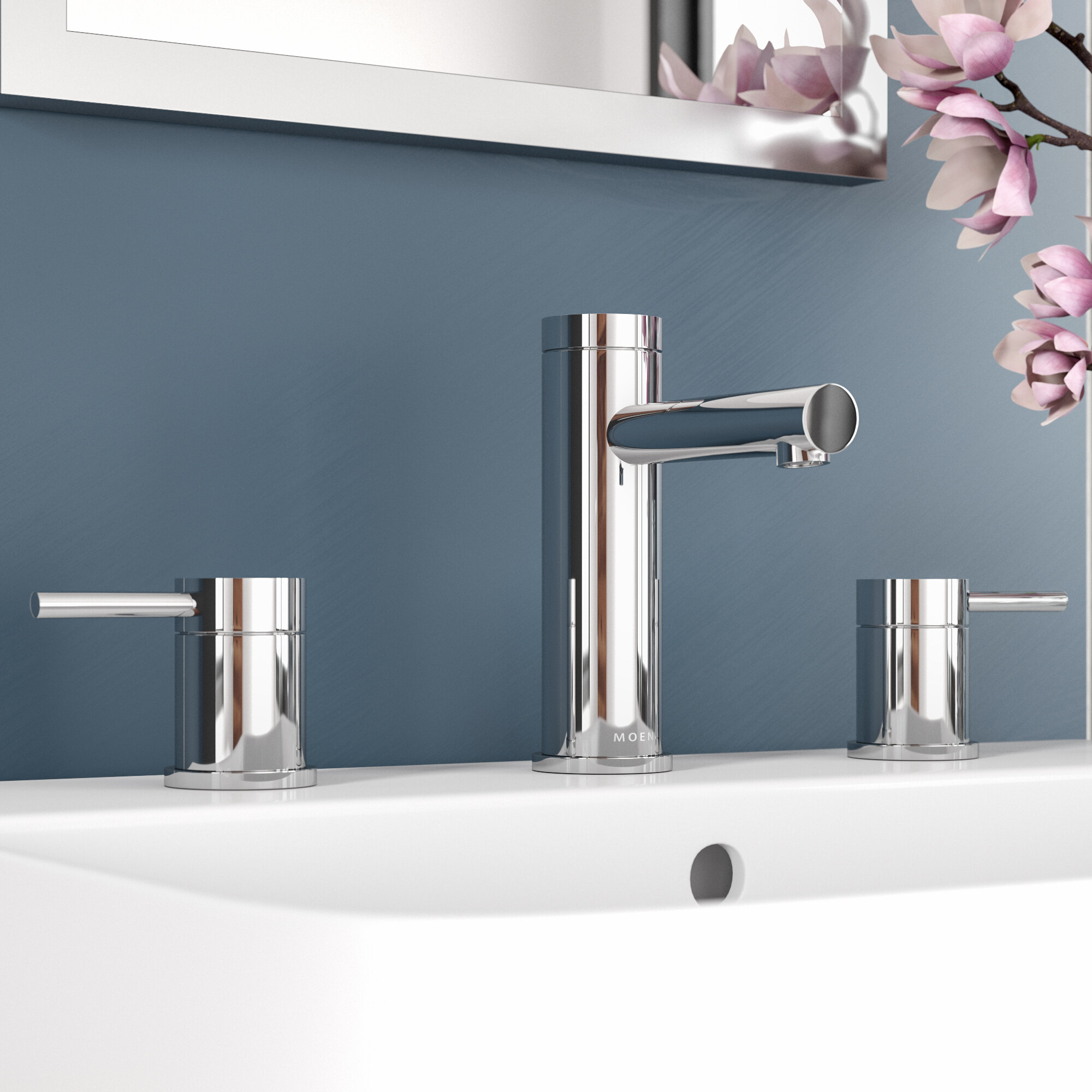 Modern Widespread Bathroom Sink Faucets Allmodern