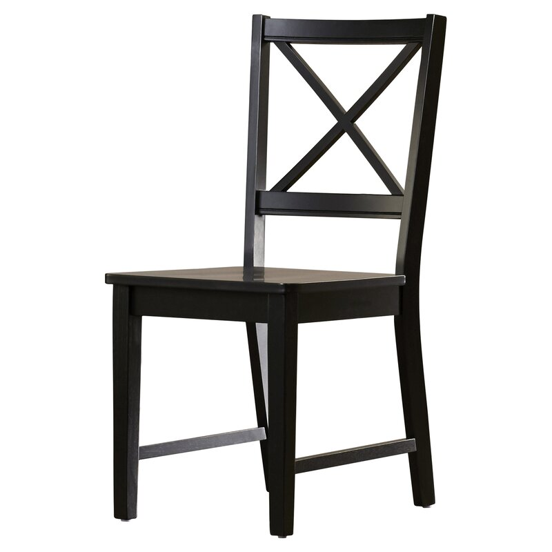 Sally Cross Back Side Chair
