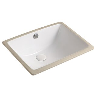 Shopping for Tammi Ceramic Rectangular Undermount Bathroom Sink With Overflow By Jade Bath