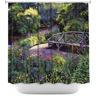 Shakespeare Garden Single Shower Curtain