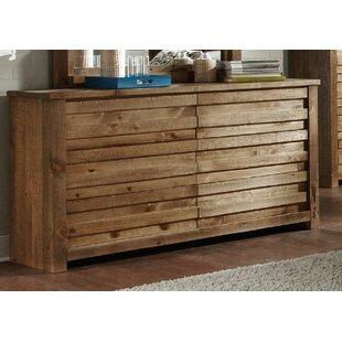 Solid Wood Dressers You\'ll Love | Wayfair