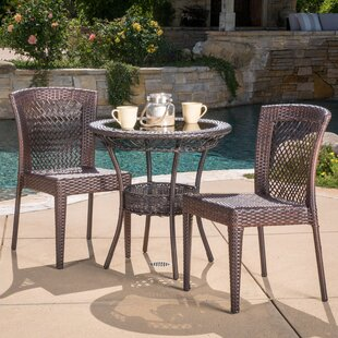 Tuers 3 Piece Bistro Set