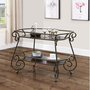 Lily Serving Bar Cart by F..