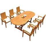 Willey 7 Piece Teak Dining Set