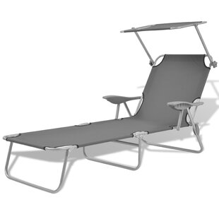 On Sale Ronnie Outdoor Sun Lounger With Canopy